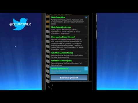 Cómo Parchar Aplicaciones Android con Lucky Patcher Para Instalar Google Play Services