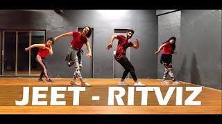 Jeet Ritviz Dance Animation Choreography Curlygrooves