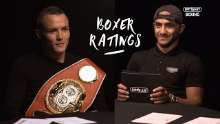 Power? Jab? Speed? Warrington and Galahad rate each other out of 10