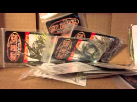 Fishing report - Tackle Warehouse Order July/11/2012 (TeamRippnLipz1) Video