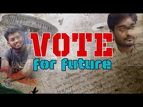 VOTE FOR FUTURE - Inspirational Short Film | Elisha Roy | Sandeep Patoju | Sarandeep | PANI PURI
