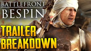 Star Wars Battlefront: Bespin Trailer Breakdown | Royal Guard, New Skins, Weapons, Dengar & More!