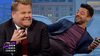 Shock Therapy Quiz w/ Dominic Cooper & James Corden