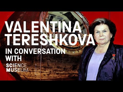 In conversation with Valentina Tereshkova