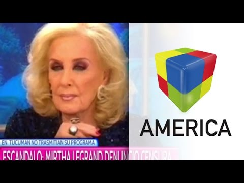 Mirtha Legrand se enojó y denunció censura