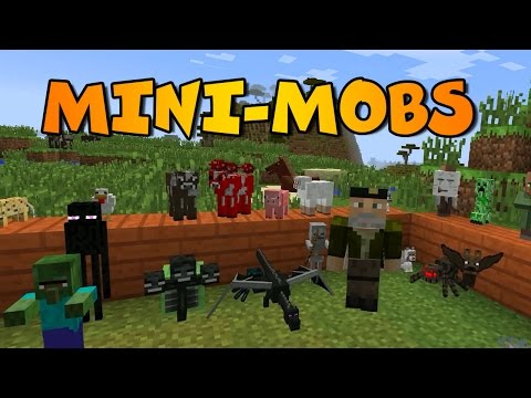MINI-MOBS | STUFFED ANIMALS MOD | Minecraft Mod Review