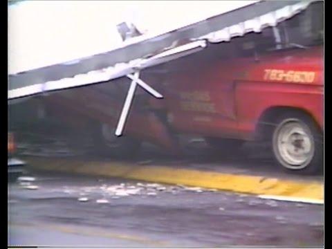 Siglo 20 Huracán Hugo Hurricane 9. 18. 1989 Puerto Rico VHS nunca visto antes 2015