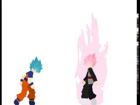 Goku Vs Goku Black Epic Battle   Pivot Animator