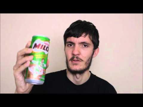 Drinking Nestle Milo Energy Drink