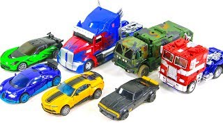 Transformers 4 AOE Autobots Optimus Prime Bumblebee Hound Crosshairs Drift Truck Vehicles Robot Toys