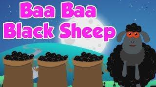 Baa Baa cừu đen | trẻ em vần điệu | Scary Rhymes | Baa Baa Black Sheep