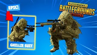 How To Get The *GHILLIE SUIT*! - PUBG Mobile