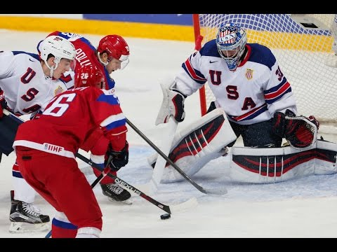 Россия - США МЧМ 2015/2016 1/2 финала