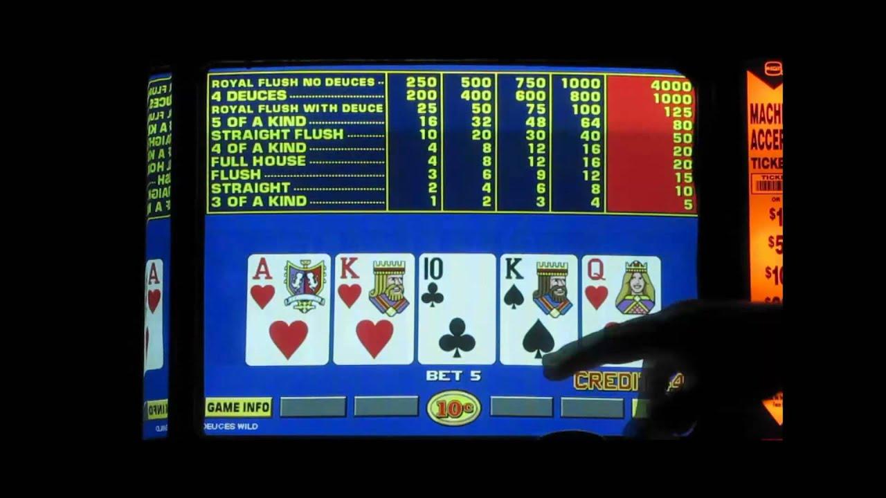 game king video poker games