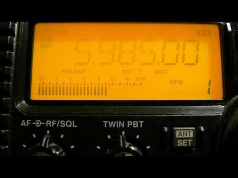 5985khz, Myanmar Radio,Naypyidaw,MMR,Burmese.