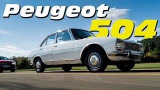 Essai rétro Peugeot 504 GL