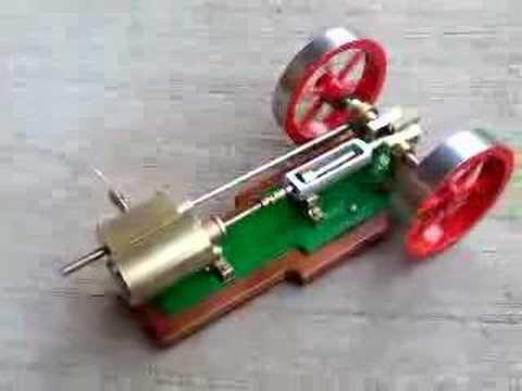 Horiz steam engine, (short version)