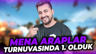 MENA ARAPLAR TURNUVASINDA 1. OLDUK!! / PUBG MOBILE TOURNAMENT