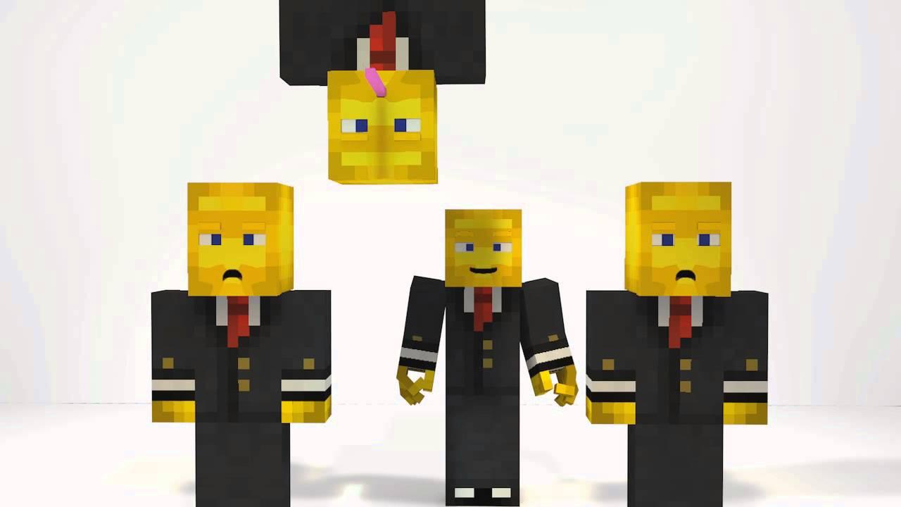 Banana Minions-[Minecraft animation] - YouTube