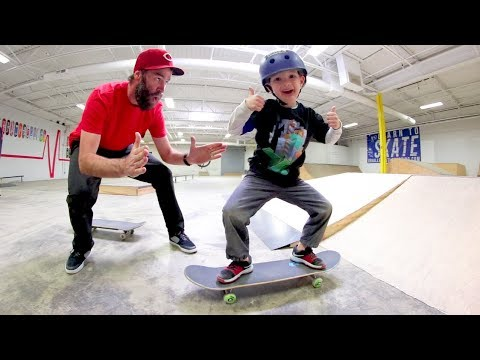 TEACH A KID A SKATE TRICK!