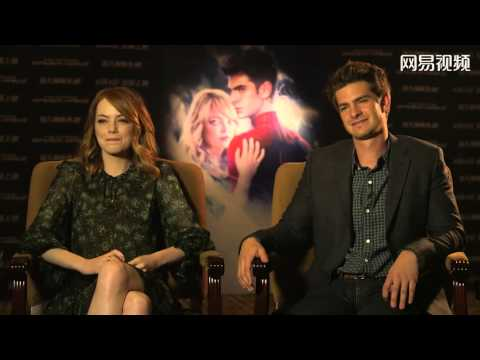 Andrew Garfield and Emma Stone China Interview (1)