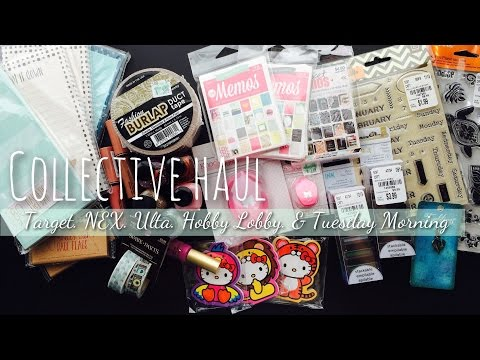 Collective Haul: Target, NEX, Ulta, Hobby Lobby & Tuesday Morning
