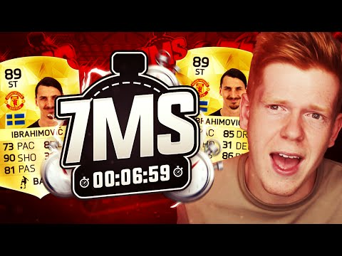 INSANE 7 MINUTE SQUAD BUILDER WITH MAN UNITED IBRAHIMOVIC!! - FIFA 16 ULTIMATE TEAM