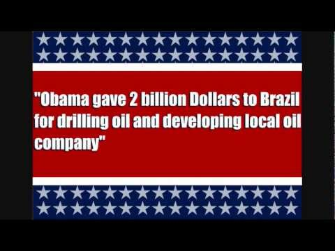 DID OBAMA GIVE MONEY TO BRAZIL? I WANT MY MONEY BACK!