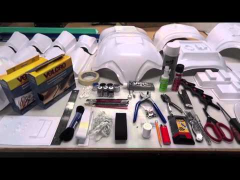 Trooperbay - Building Accurate Stormtrooper Armor Part 1