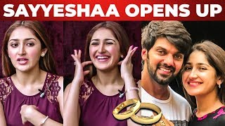 """We are Getting Married"" – Sayesha's Official Statement on Marriage with Arya"