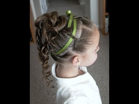 How to do a Twist Braid Updo Part 2