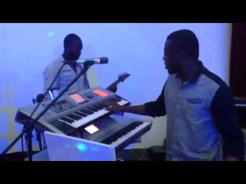 THE BIGDEAL BAND GH checking sound at the State Banquet Hall Accra with Abu Mohammed Forever Young