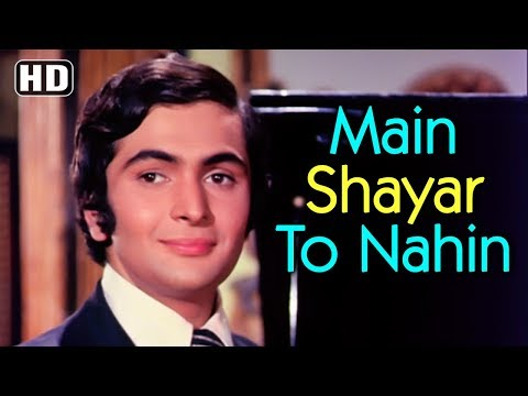 Main Shayar To Nahin - Bobby - Rishi Kapoor, Dimple Kapadia & Aruna Irani - Bollywood Superhits Music Videos