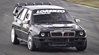 Lancia Delta Integrale EVO Tuned by Sartori Racing in Action | Feat. Amazing Turbo Sounds!