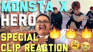 Reaction MONSTA X HERO Special Clip Rooftop Ver