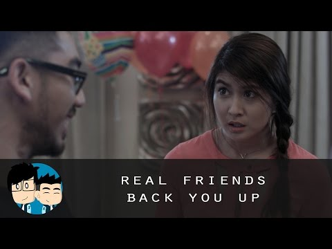 Real Friends Back You Up