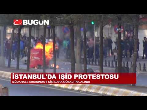 İSTANBUL'DA OLAYLAR BU GECE DE DURULMADI