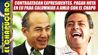 ALERTA! EPN y Calderon quieren que El Chapo embarre a AMLO