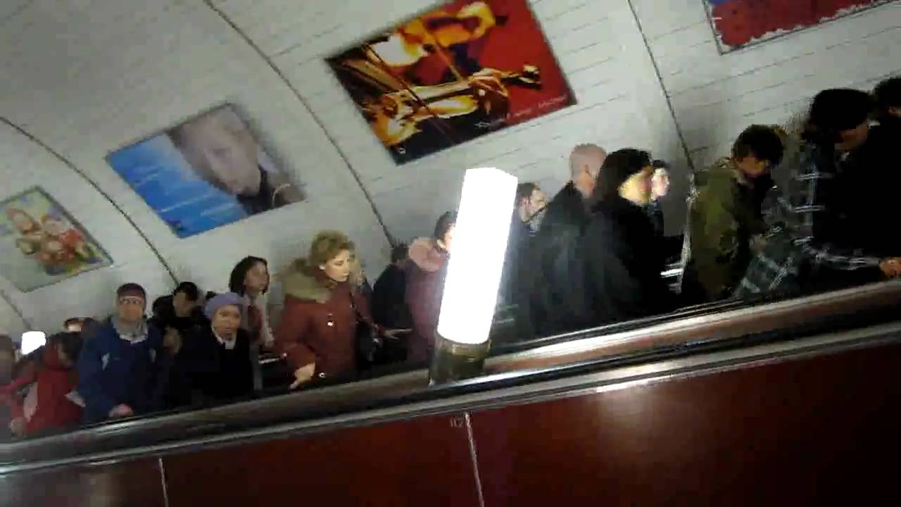 Moscow metro disaster