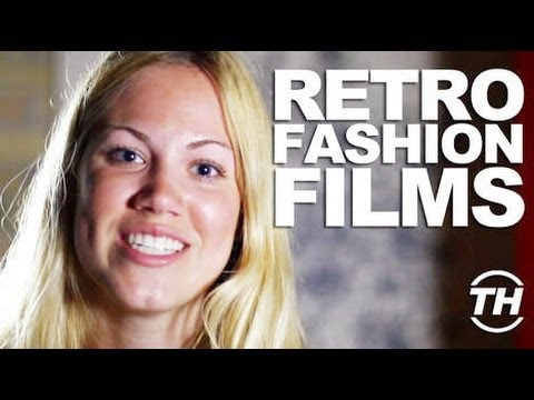 Retro Fashion Films - Trend Hunter Sarah Robson Uncovers Patriotic Style Videos