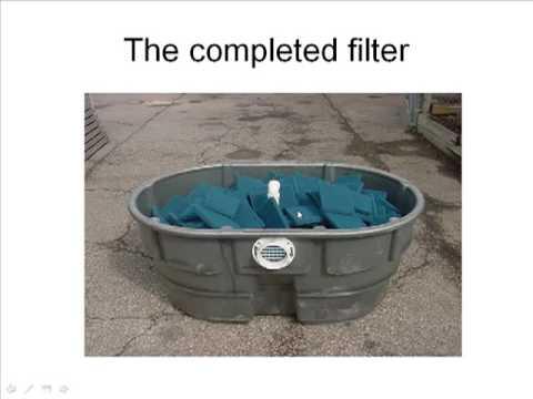 Diy pond filter youtube for Build your own koi pond