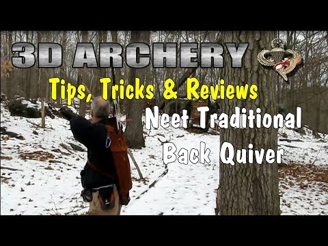 3D Archery - Tips. Tricks & Reviews: Neet Back Quiver Review