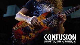Metallica Confusion Raleigh Nc January 28 2019
