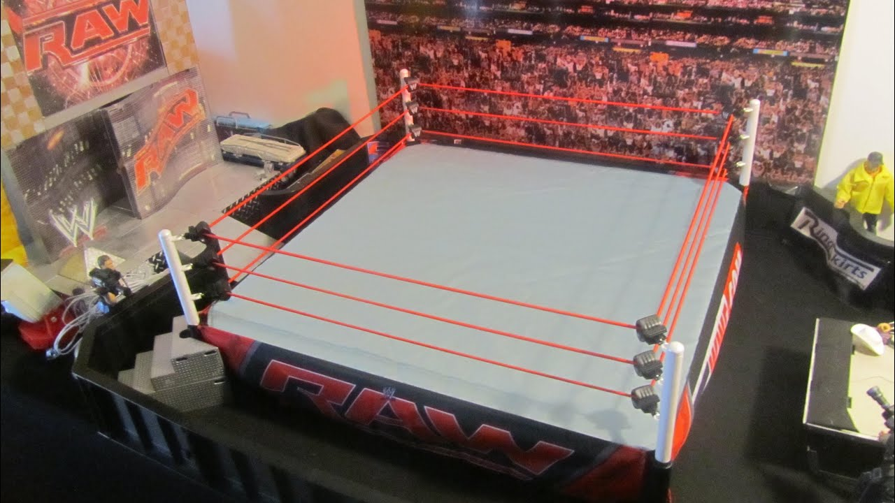 Wwe Real Scale Ring Size
