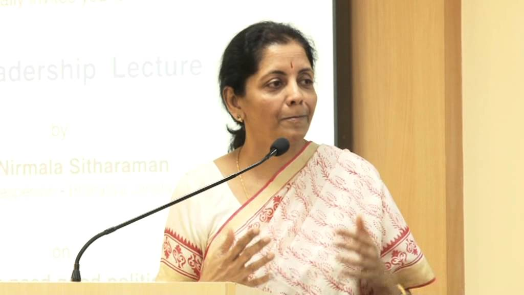 13th Leadership Lecture by Smt. Nirmala Sitharaman Part#2/3