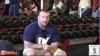 Dorian Yates: Blood & Guts Seminar at Apollon Gym 5 / 5