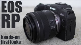 Canon EOS RP review - BUDGET full-frame mirrorless
