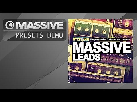 Massive Presets: Hy2rogen - Massive Leads (Progressive, Electro)