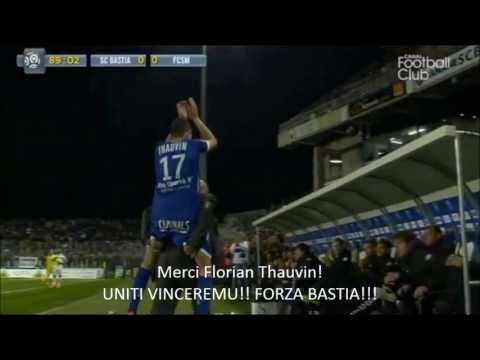 Florian Thauvin 2012-2013 saison pour Sporting Club de Bastia! | 720p HD