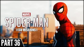 Spider-Man (PS4 Pro) - Part 36 [ESU Missions + One Side Mission]